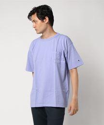 CHAMPION (チャンピオン)T-1011 UST-SHIRTST1011(ティーテンイレブン) ポケット付き US Tシャツ:MADE IN USA(Tシャツ/カットソー)