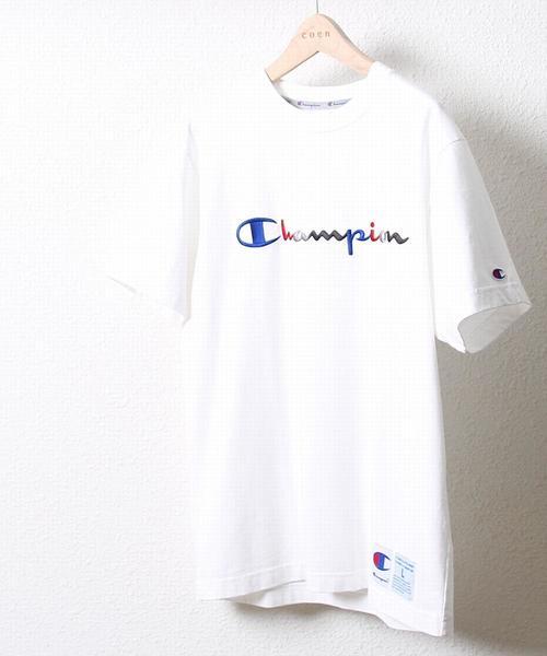 Champion(チャンピオン)アクションスタイルロゴクルーネックTシャツ(C3-F362)