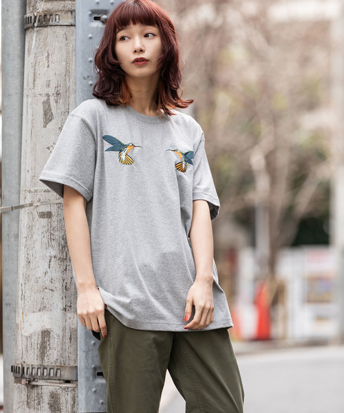 FDMTL/ファンダメンタル HUMMINGBIRDS TEE