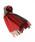 TWEED MILL(ツイードミル)の「TWEED MILL/ツイードミル Lambswool Knee Rug 70×190/ラムウールストール(チェックマフラー)(マフラー/ショール)」 レッド