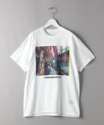 <TANGTANG(タンタン)> SHEBREEEZECITY 77/Tシャツ □□