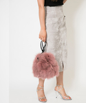 SMIRNASLI | Fox Fur Purse(ショルダーバッグ)