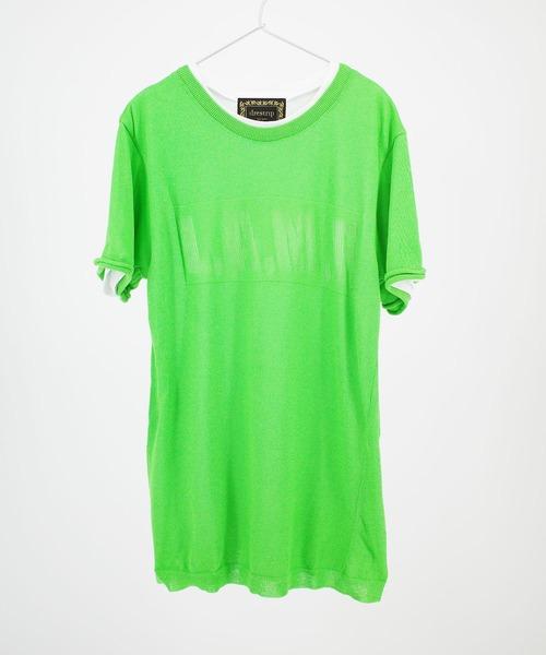 沸騰ブラドン 【セール/】[drestrip/ ドレストリップ]アイレットサマーニットレイヤードTシャツ(L.A.M.F.)(Tシャツ/カットソー)|drestrip(ドレストリップ)のファッション通販, ホビークラブ SAUNDERS:e3dd3e40 --- skoda-tmn.ru