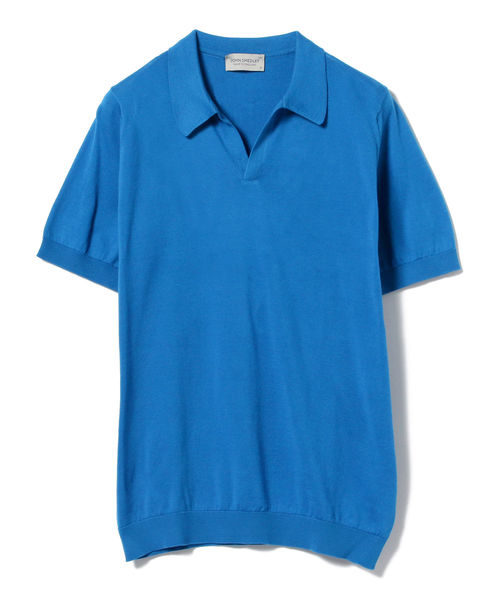 JOHN SMEDLEY / ANCONA 30ゲージ スキッパーポロシャツ