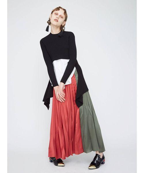 2019春大特価セール! ORIGAMI PLEATS SK SK SB(スカート)|UN3D.(アンスリード)のファッション通販, ワールドいち:436a3cc4 --- 5613dcaibao.eu.org