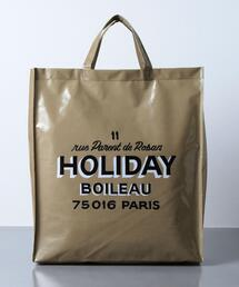 <HOLIDAY BOILEAU(ホリディ ボワロ)> THE PVC TOTE BAG