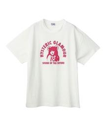 HYS BEAR GIRL オーバーサイズTシャツホワイト