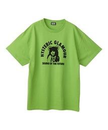 HYS BEAR GIRL オーバーサイズTシャツグリーン