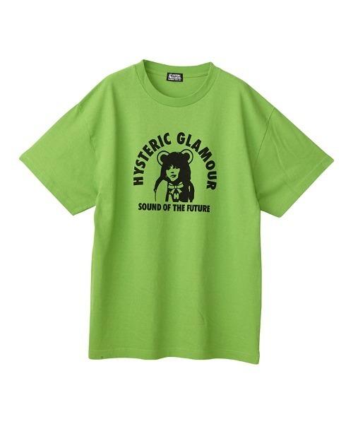HYS BEAR GIRL オーバーサイズTシャツ