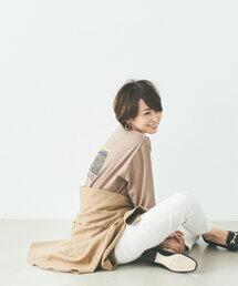 [ 別注 ][ アウターサンセット ] SC OUTERSUNSET×GLR プリント フォト Tシャツ