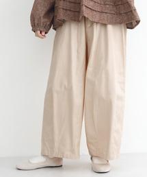 merlot(メルロー)のウエストドロストコクーンワイドパンツ1127(パンツ)