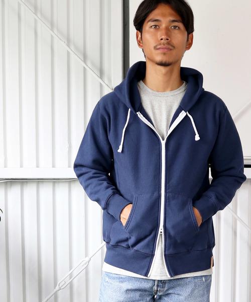 ◆35th ANNIVERSARYモデル◆【Goodwear/グッドウェア】-THE BAREFOOT限定- ジップパーカー スウェット made in usa