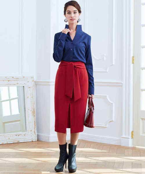 最終決算 【セール】リボンロングタイトスカート(スカート)|NARACAMICIE(ナラカミーチェ)のファッション通販, 日本法令:2bf06479 --- fahrservice-fischer.de