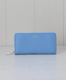 <SMYTHSON>PANAMA ZIP AROUND PURSE COBALT/ウォレット.