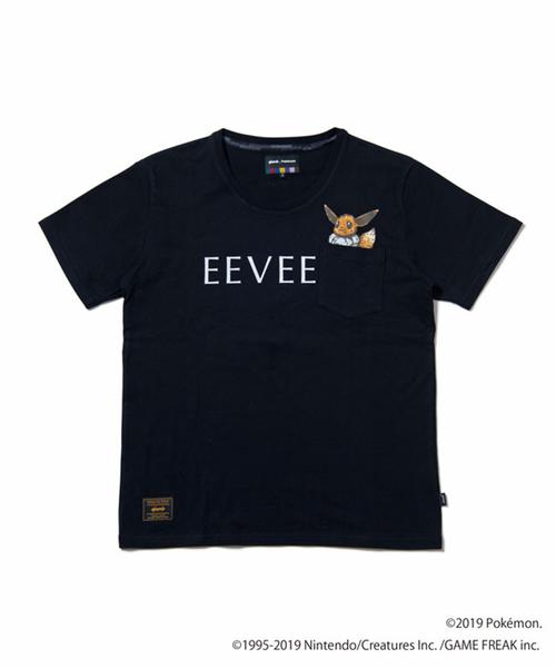 """glamb / グラム ポケモン """"Eevee"""" pocket T イーブイポケットTシャツ GB0119/PK06 ポケットモンスター"""