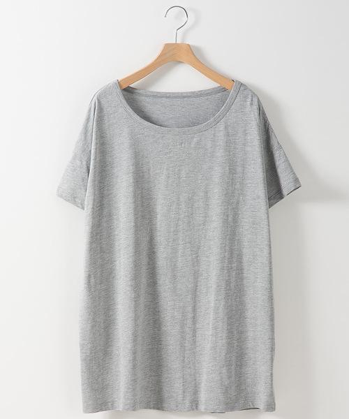 Fizz(フィズ)の「ビッグシルエットTシャツ(Tシャツ/カットソー)」|詳細画像