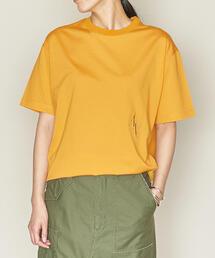 ASTRAET(アストラット)クルーネック ロゴ Tシャツ