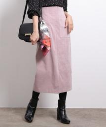 ROPE'(ロペ)の【ドラマ着用】前ポケットハイウエストタイトスカート(スカート)