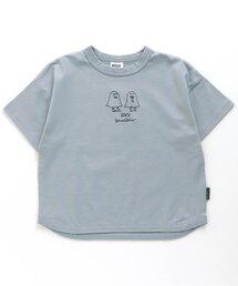 BREEZE(ブリーズ)の10柄モチーフ刺繍Tシャツ(Tシャツ/カットソー)