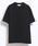 10 by juha stable garments(テンバイユハ ステーブルガーメンツ)の「DOUBLE BINDER TEE(Tシャツ/カットソー)」|ブラック