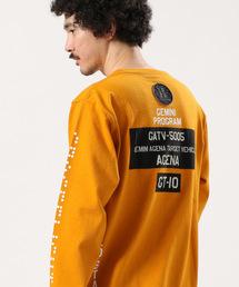 AVIREX(アヴィレックス)のAVIREX/アヴィレックス/ 長袖 クルーネック Tシャツ マルチグラフィック/ L/S CREW NECK T-SHIRT MULTI GRAPHIC/ GT-10(Tシャツ/カットソー)