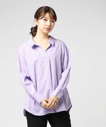UNRELISH(アンレリッシュ)のスキッパータイプライターシャツ(シャツ/ブラウス)