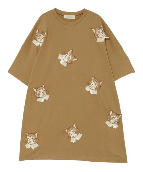 定番  SPRUCED UP CAT Tシャツ, やきもの工房炎 4b9be59e