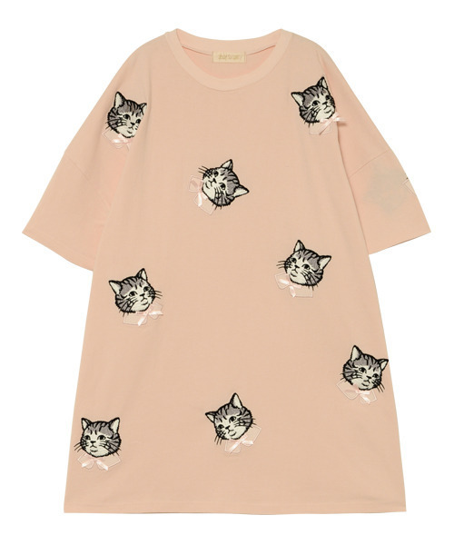 SPRUCED UP CAT Tシャツ