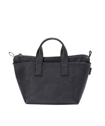 LEATHER TOTE BAG 【N.HOOLYWOOD COMPILE  × PORTER】ブラック