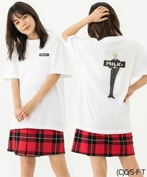 MILKFED.xONE PIECE SS TEE SANJI(Tシャツ/カットソー)