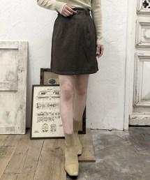 archives e'pice(アルシーヴエピス)の《setupにも》チェックタイトスカート(スカート)