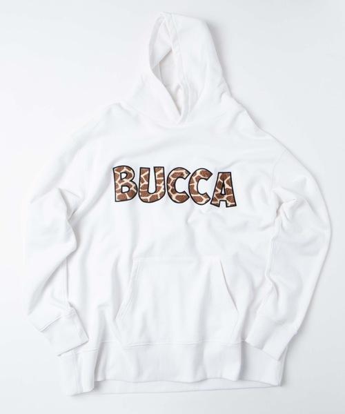 【BUCCA 44】ジラフロゴプルオーバーパーカー