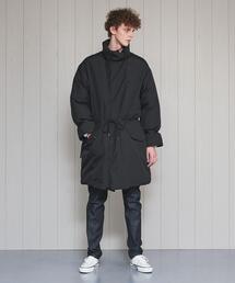 <H>DOWN BLOUSY COAT/コート