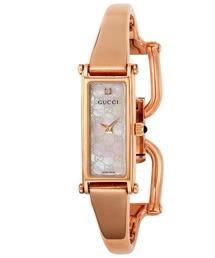 GUCCI BANGLE 1500 グッチ バングル 腕時計 YA015560 レディース(腕時計)