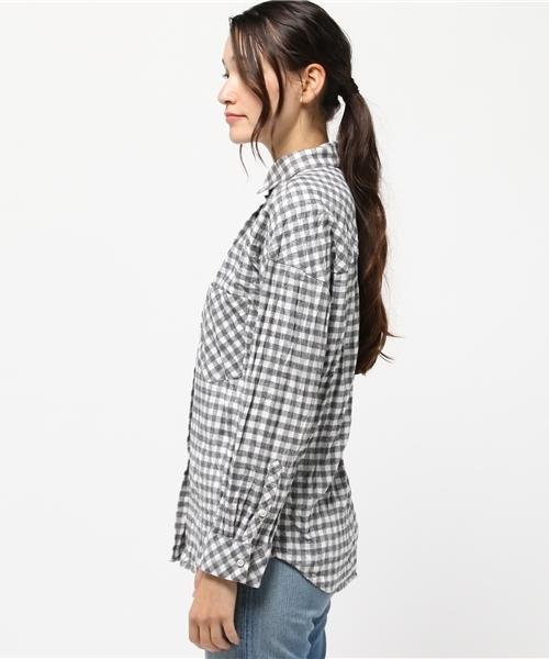 YANUK ビッグシャツ Y-SHIRT/ワイシャツ 57163835