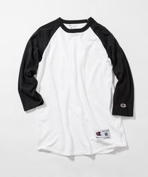 Champion(チャンピオン)の【Champion】 チャンピオン ベースボール ロング Tシャツ(Tシャツ/カットソー)