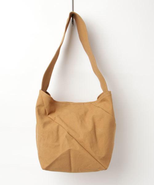 esperanto (エスペラント)/タンニン染め9号帆布 ねじりバッグ