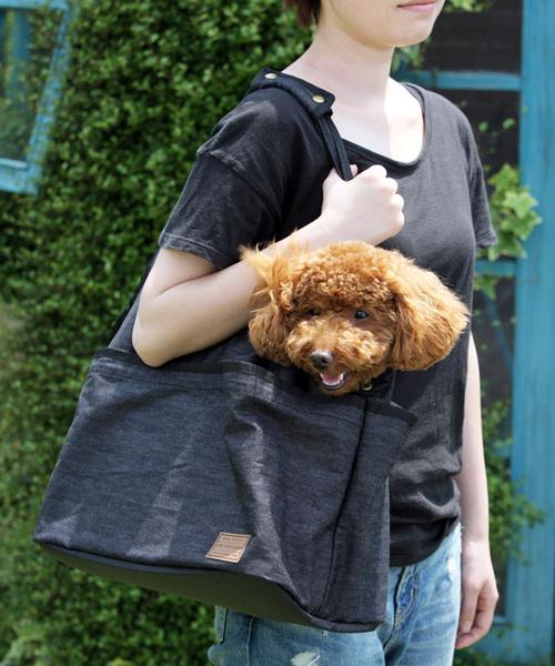 犬と生活/いぬとせいかつ/L&Dウォッシャブルキャリー/犬用品/お散歩