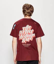 <PRiVATE LESSONS> MEDIUM RARE TEE MTEX/Tシャツ ◆
