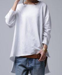 antiqua(アンティカ)のカットオフトップス(Tシャツ/カットソー)