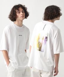 HARE(ハレ)のバックフォトロゴTシャツ(HARE)(Tシャツ/カットソー)