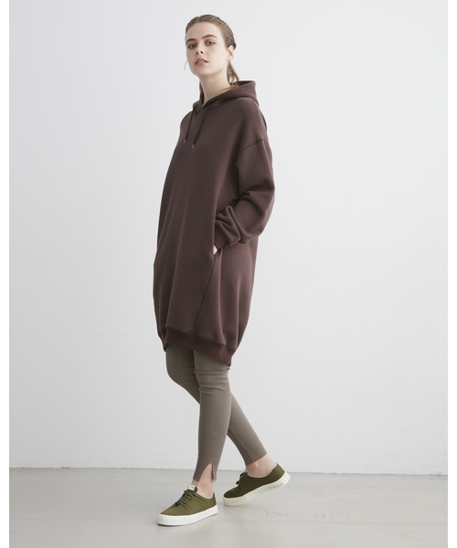 100%本物 PUFF SLEEVE SWEAT PARKA ONE-PIECE, 宮前区 cbd61f80