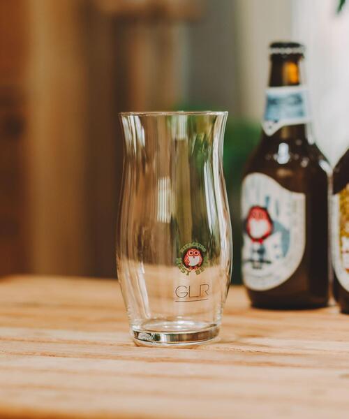 【別注】<常陸野ネストビール×green label relaxing> ビアグラス