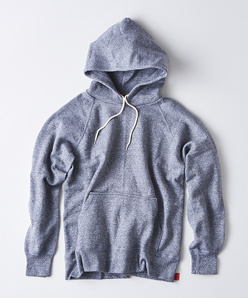 gym master(ジムマスター)の「Sweat raglan pull  over hooded  (made in CANADA)(パーカー)」|ミックスグレー