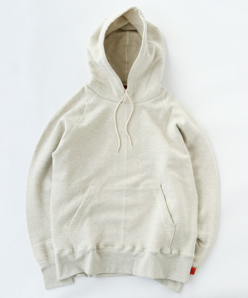 gym master(ジムマスター)の「Sweat raglan pull  over hooded  (made in CANADA)(パーカー)」|オートミール