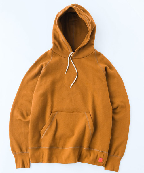 gym master(ジムマスター)の「Sweat raglan pull  over hooded  (made in CANADA)(パーカー)」|キャメル