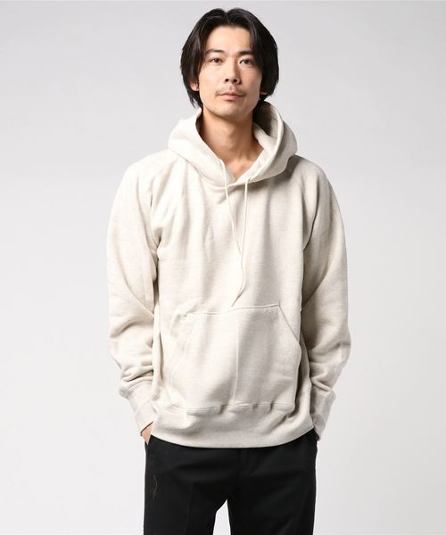 gym master(ジムマスター)の「Sweat raglan pull  over hooded  (made in CANADA)(パーカー)」|詳細画像