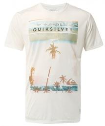 Quiksilver(クイックシルバー)のスイムウェア ラッシュガード UPF30+ ブランドロゴ サーフTシャツ / 水着 メンズ / HUNGUP DOWN SS(ラッシュガード)