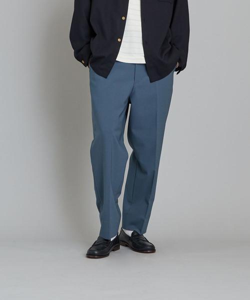 Steven Alan(スティーブンアラン)の「<Steven Alan> PPLN SUPER BAGGY TAPERED HALF EASY PANTS-JUST/パンツ(パンツ)」|詳細画像