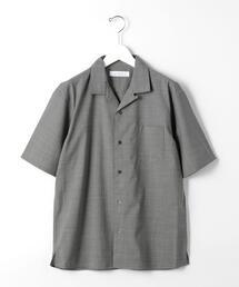 CM T/W トロ オープンカラー 半袖 シャツ < 機能性 / ストレッチ ウォッシャブル > #
